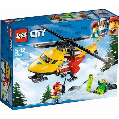LEGO City 60179 Ambulance helikopter