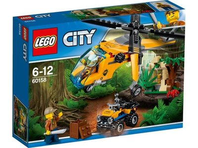 LEGO City 60158 Jungle vrachthelikopter
