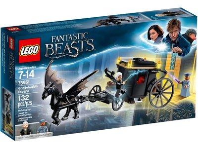 LEGO Harry Potter 75951 Grindelwald's ontsnapping