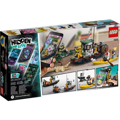 LEGO Hidden Side 70419 Schipbreuk met garnalenboot