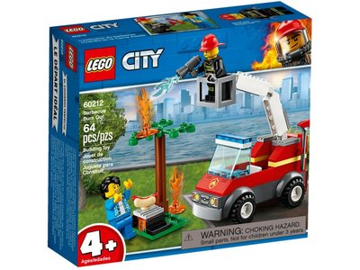 LEGO City 60212 Barbecuebrand blussen