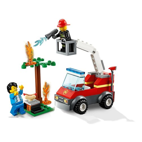 LEGO City 60212 Barbecuebrand blussen
