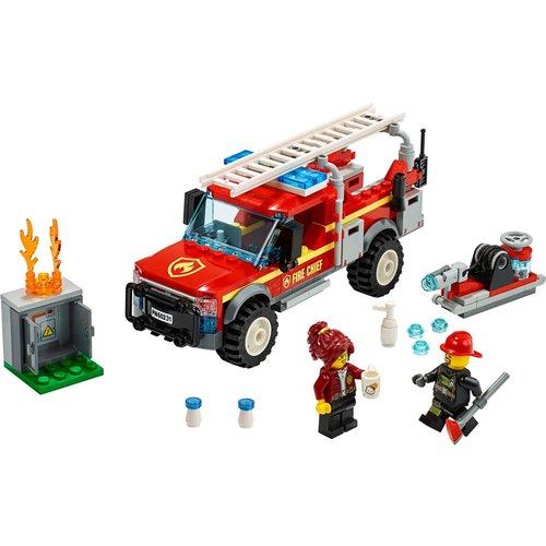 LEGO City 60231 Reddingswagen van brandweercommandant