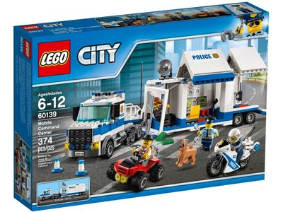 LEGO City 60139 Commandocentrale