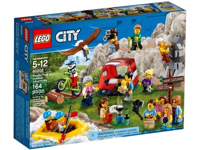 LEGO City 60202 Personenpakket- Buitenavonturen