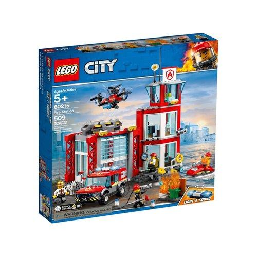 LEGO City 60215 Brandweerkazerne
