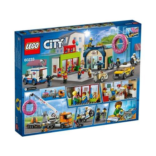 LEGO City 60233 Opening donutwinkel