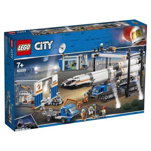 LEGO City 60229 Raket bouwen en transporteren