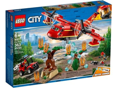 LEGO City 60217 Brandweervliegtuig