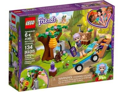 LEGO Friends 41363 Mia's avontuur in het bos