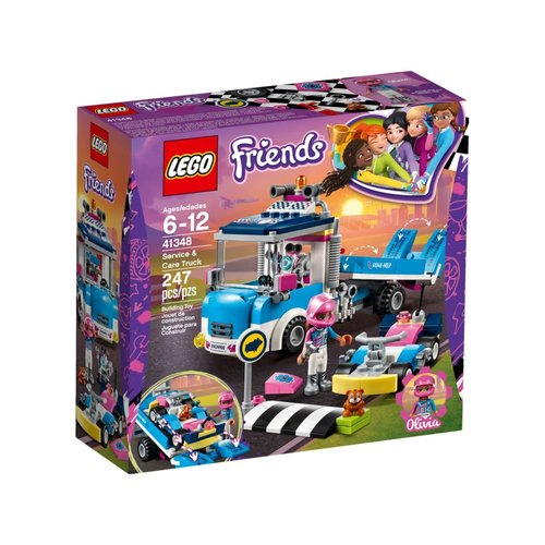 LEGO Friends 41348 Onderhouds- en reparatietruck