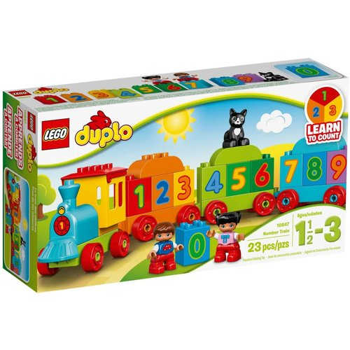 LEGO DUPLO 10847 Getallentrein