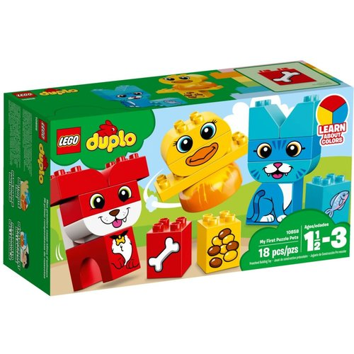 LEGO DUPLO 10858 Mijn eerste puzzeldieren