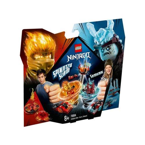 LEGO Ninjago 70684 Spinjitzu Slam - Kai vs. Samoerai