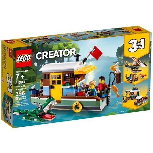 LEGO Creator 3 in 1 31093 Woonboot aan de rivier