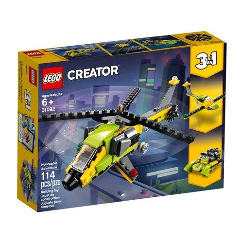 LEGO Creator 3 in 1 31092 Helikopter avontuur