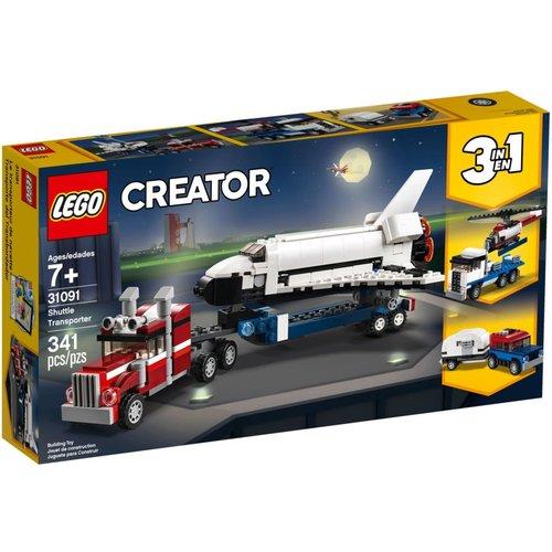 LEGO Creator 3 in 1 31091 Spaceshuttle transport