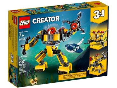 LEGO Creator 3 in 1 31090 Onderwaterrobot