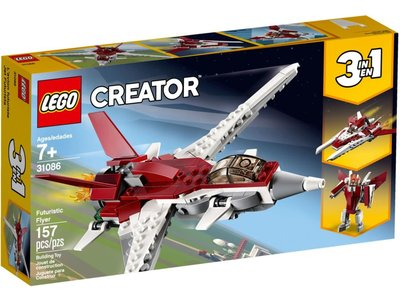 LEGO Creator 3 in 1 31086 Futuristisch vliegtuig