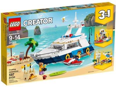 LEGO Creator 3 in 1 31083 Cruise avonturen