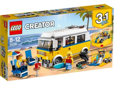 LEGO Creator 3 in 1 31079 Zonnig surferbusje