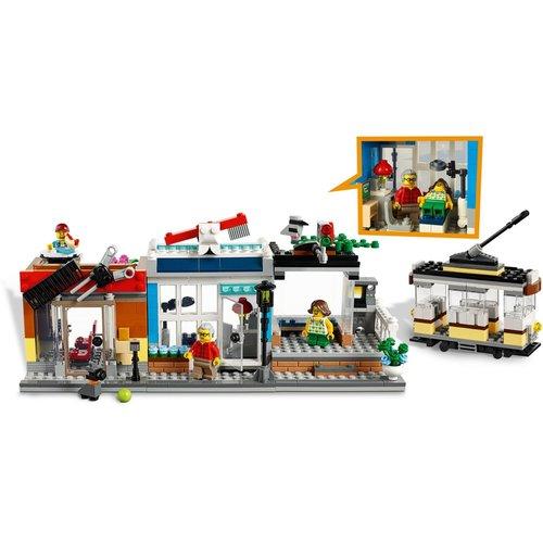 LEGO Creator 3 in 1 31097 Woonhuis dierenwinkel & café