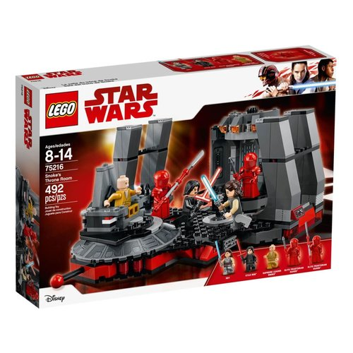 LEGO Star Wars 75216 Snoke's troonzaal