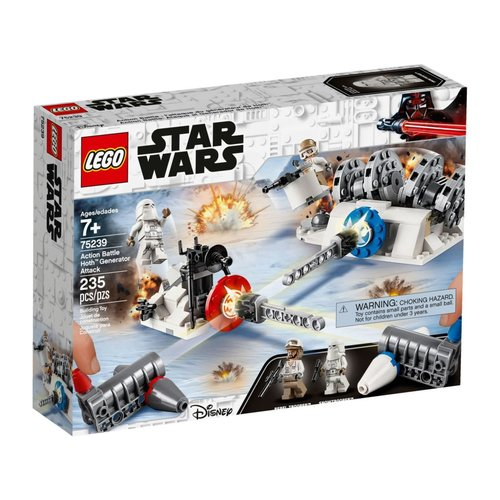 LEGO Star Wars 75239 Action Battle Aanval op de Hoth Generator