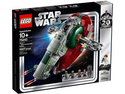 LEGO Star Wars 75243 Slave uitgave ter ere van het 20-jarig bestaan