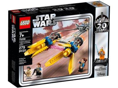 LEGO Star Wars 75258 Anakin's Podracer uitgave ter ere van het 20-jarig bestaan