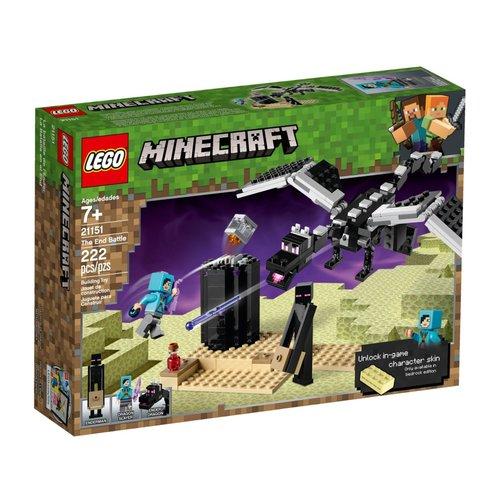 LEGO Minecraft 21151 Het laatste gevecht