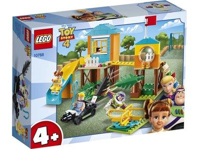 LEGO Toy Story 10768 Speeltuinavontuur van Buzz en Bo Peep