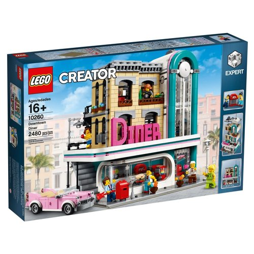 LEGO Creator Expert 10260 Diner in de stad