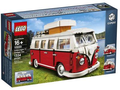 LEGO Creator Expert 10220 Volkswagen T1 Kampeerbus