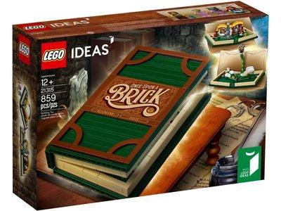 LEGO Ideas 21315 Uitklapboek