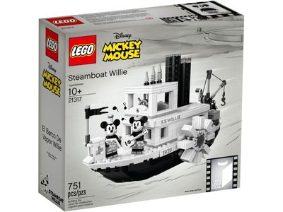 LEGO Ideas 21317 Steamboat Willy