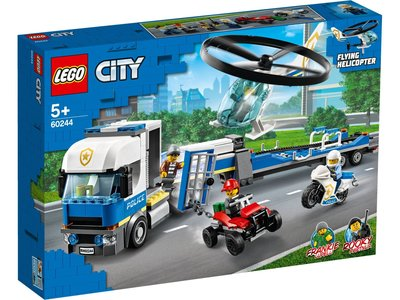 LEGO City 60244 Helikopter transport