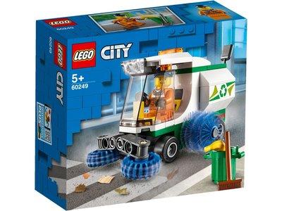 LEGO City 60249 Straatveegmachine