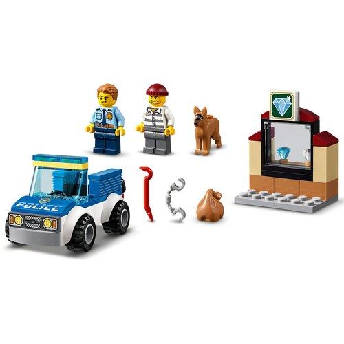 LEGO City 60241 Politie hondenpatrouille
