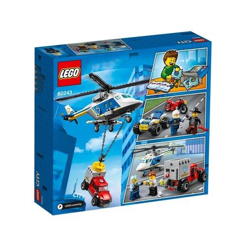 LEGO City 60243 Politiehelikopter achtervolging