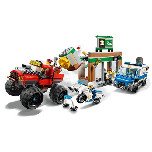 LEGO City 60245 Politiemonstertruck overval