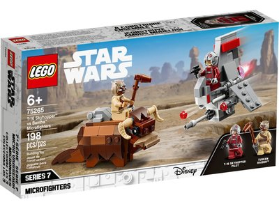 LEGO Star Wars 75265 T-16 Skyshopper VS. Bantha Microfighters