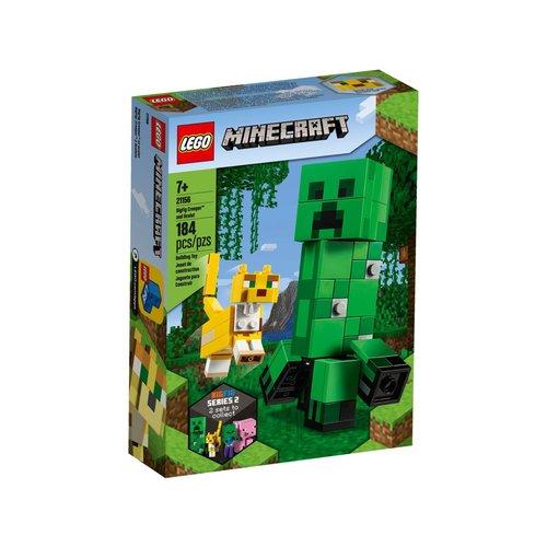 LEGO Minecraft 21156 BigFig Creeper en Ocelot