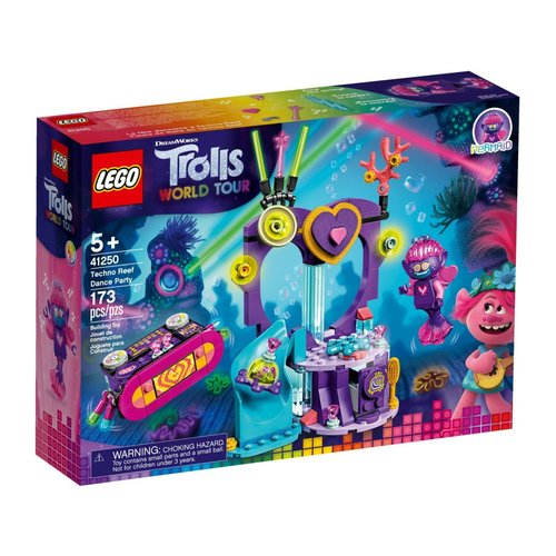 LEGO Trolls 41250 Dansfeestje op het Techno-Rif
