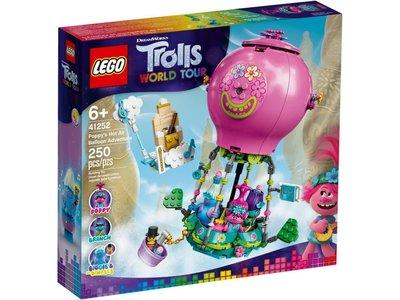 LEGO Trolls 41252 Poppy's Luchtballonavontuur