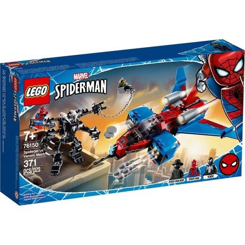 LEGO Super Heroes 76150 Spiderjet vs. Vernom Mecha