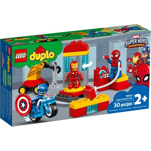 LEGO DUPLO 10921 Laboratorium van Superhelden