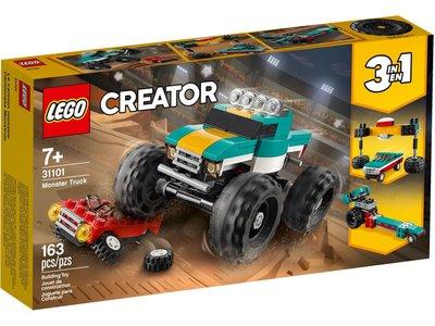 LEGO Creator 3 in 1 31101 Monstertruck