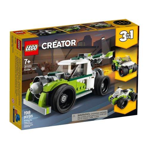 LEGO Creator 3 in 1 31103 Raketwagen