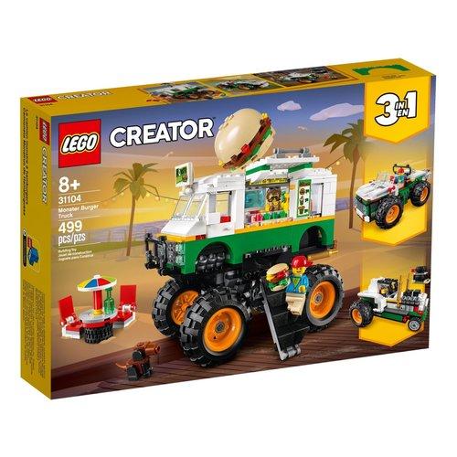 LEGO Creator 3 in 1 31104 Hamburger Monstertruck
